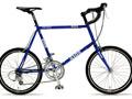 ... 自転車がスカートで乗る女性に