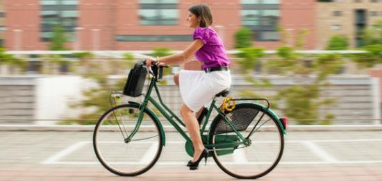 自転車通勤で理想のダイエット
