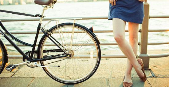 自転車通勤は足(太もも)が ...
