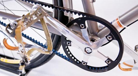 ... できるベルトドライブ自転車